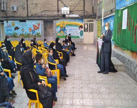 برگزاري مراسم بازگشايي مدارس-پايه دوم