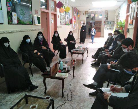 اولین جلسه اعضای انجمن اولیا و مربیان
