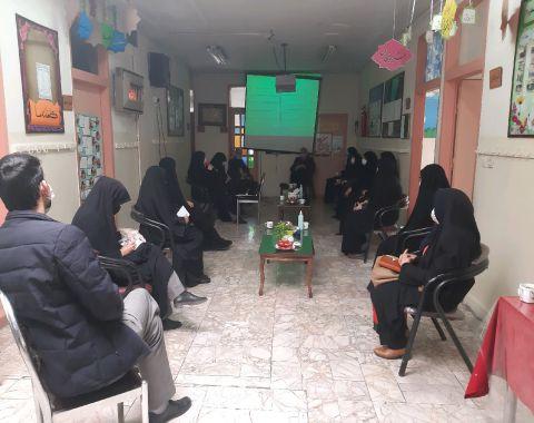 جلسه جابربن حیان و فرصت های یادگیری مدارس امام حسین علیه السلام